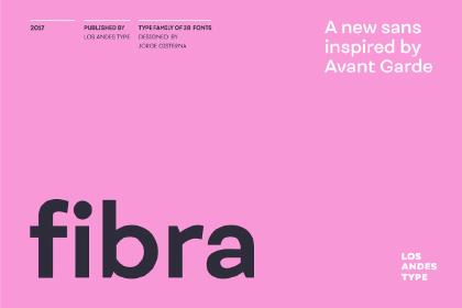 Fibra Sans Free Demo Font