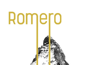 Romero Regular Free Typeface