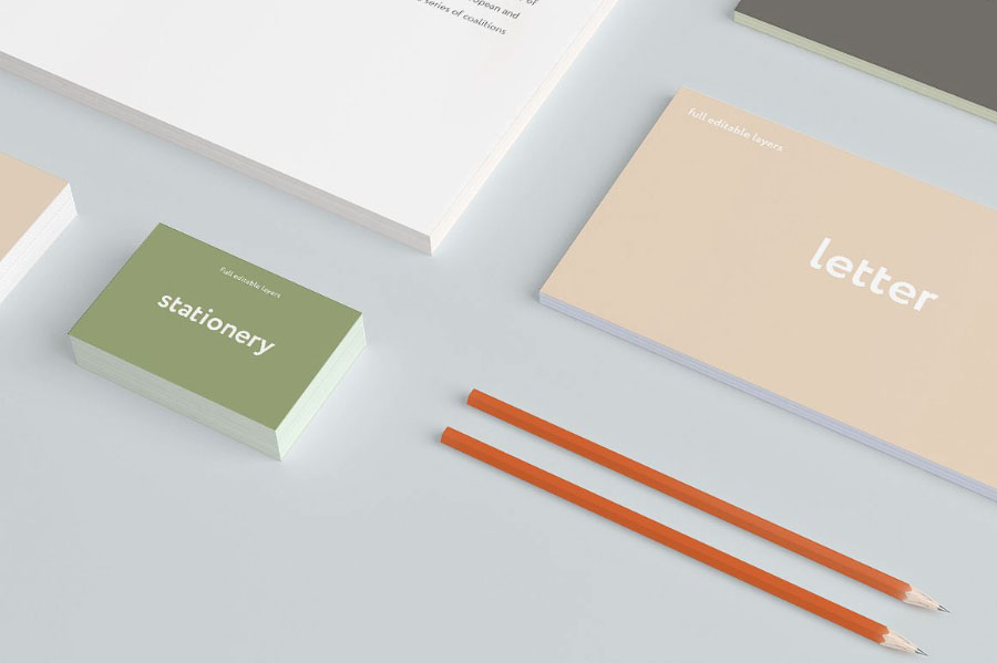 Branding Mockup Set Free Sample