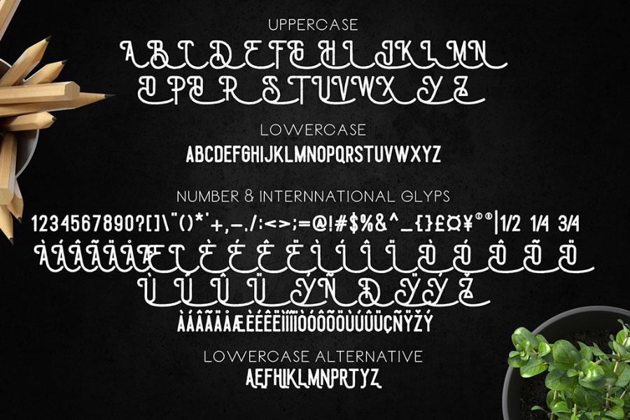 Draconian Vintage Script Demo