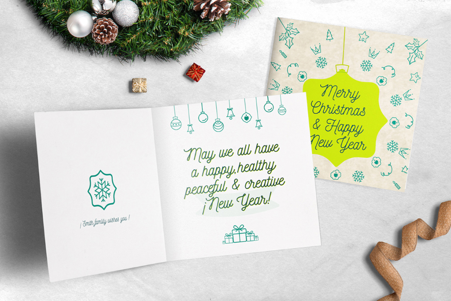 Ho Ho Ho! Greeting Card Templates