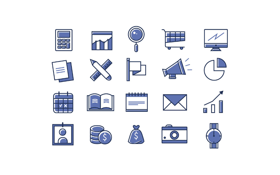 Free Office Linear Icon Pack