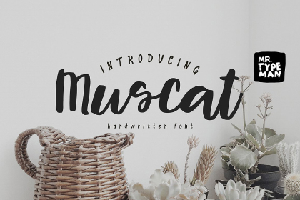 Muscat Handwriting Script Demo