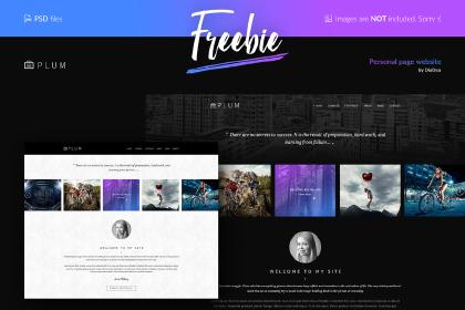 PSD Templates — Free Design Resources