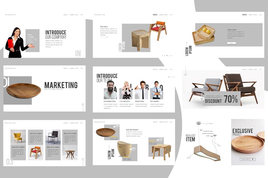 Market Free Presentation Template