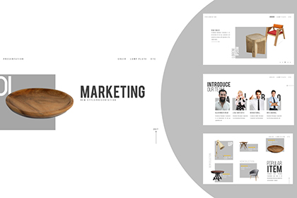 Market Free Presentation Template