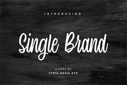 Single Brand Font Demo