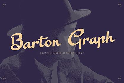 Barton Graph Font Free Demo