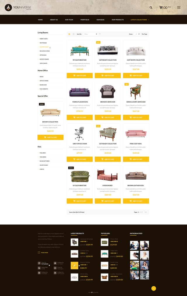freya free ecommerce template - Free Ecommerce Template