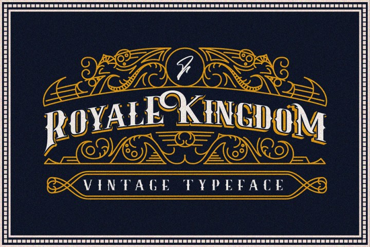 Royale Kingdom Font Demo