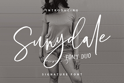 Sunnydale Font Duo Demo