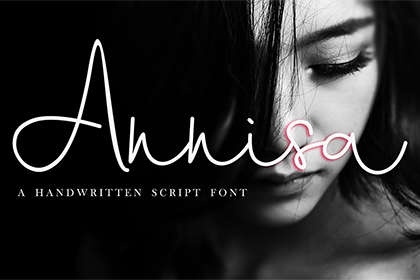 Annisa Handwriting Script Demo