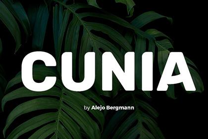 Cunia Display Free Font