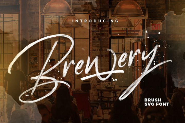 Brewery Free SVG Font