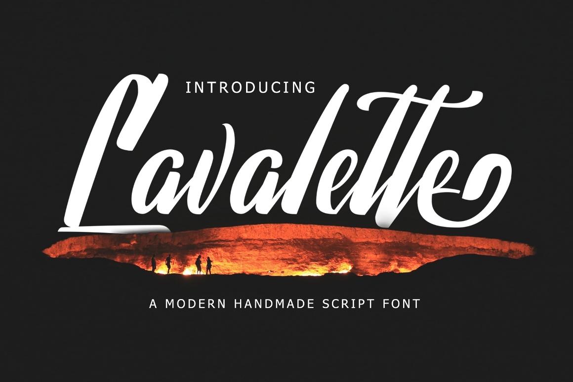 Lavalette Script Free Demo