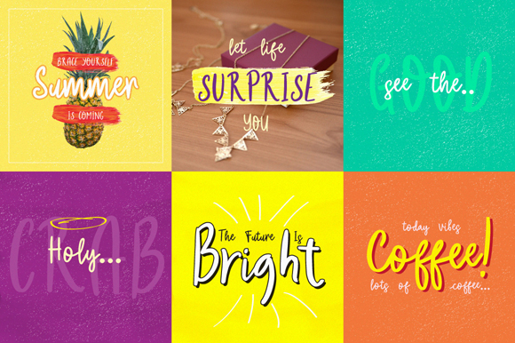 Belle ame Free Font Duo