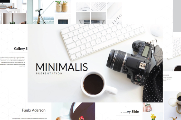 Minimalis Multipurpose Powerpoint