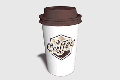 Coffee Cup Photo-Realistic Mockup