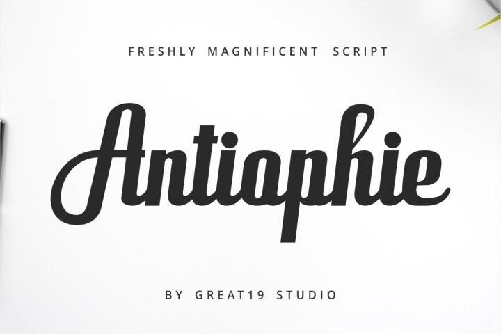 Antiophie Powerful Script Demo