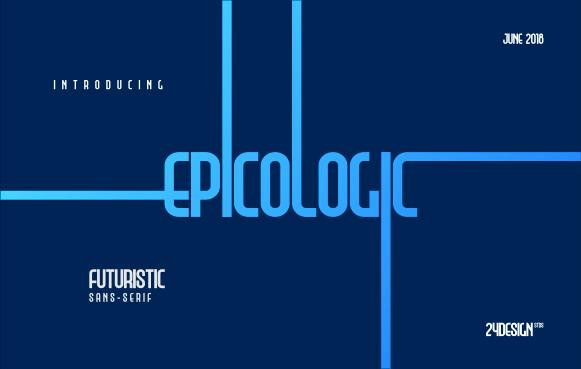 Epicololic 4 Font Style Free Demo
