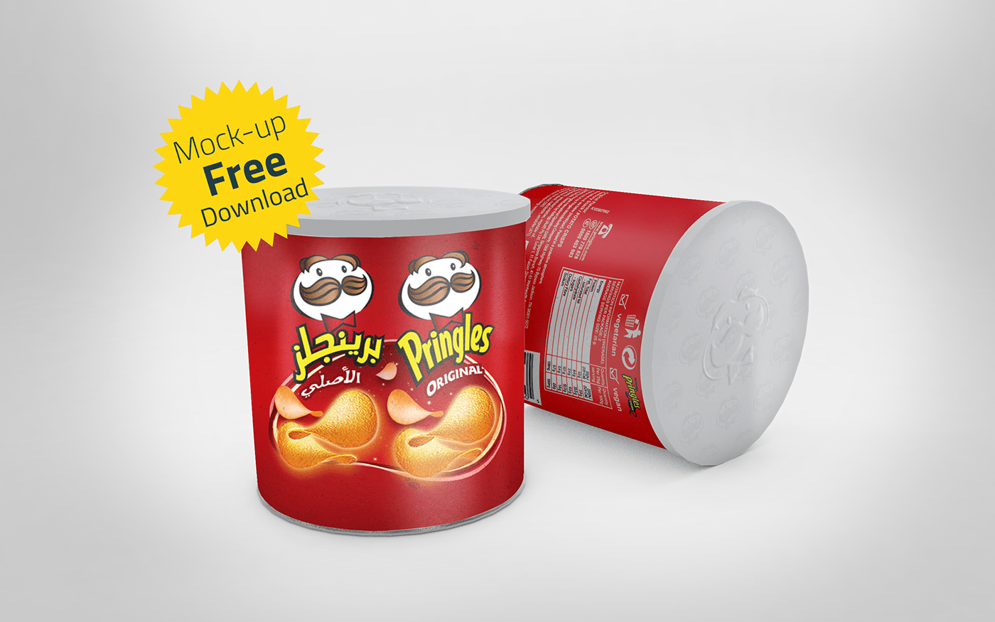 Free Chips Can Mockup