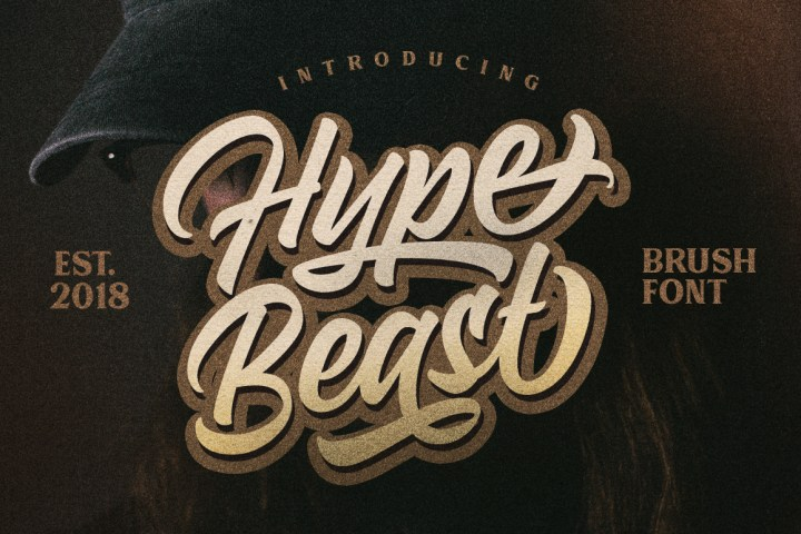 Hypebeast Font Free Demo_prev01