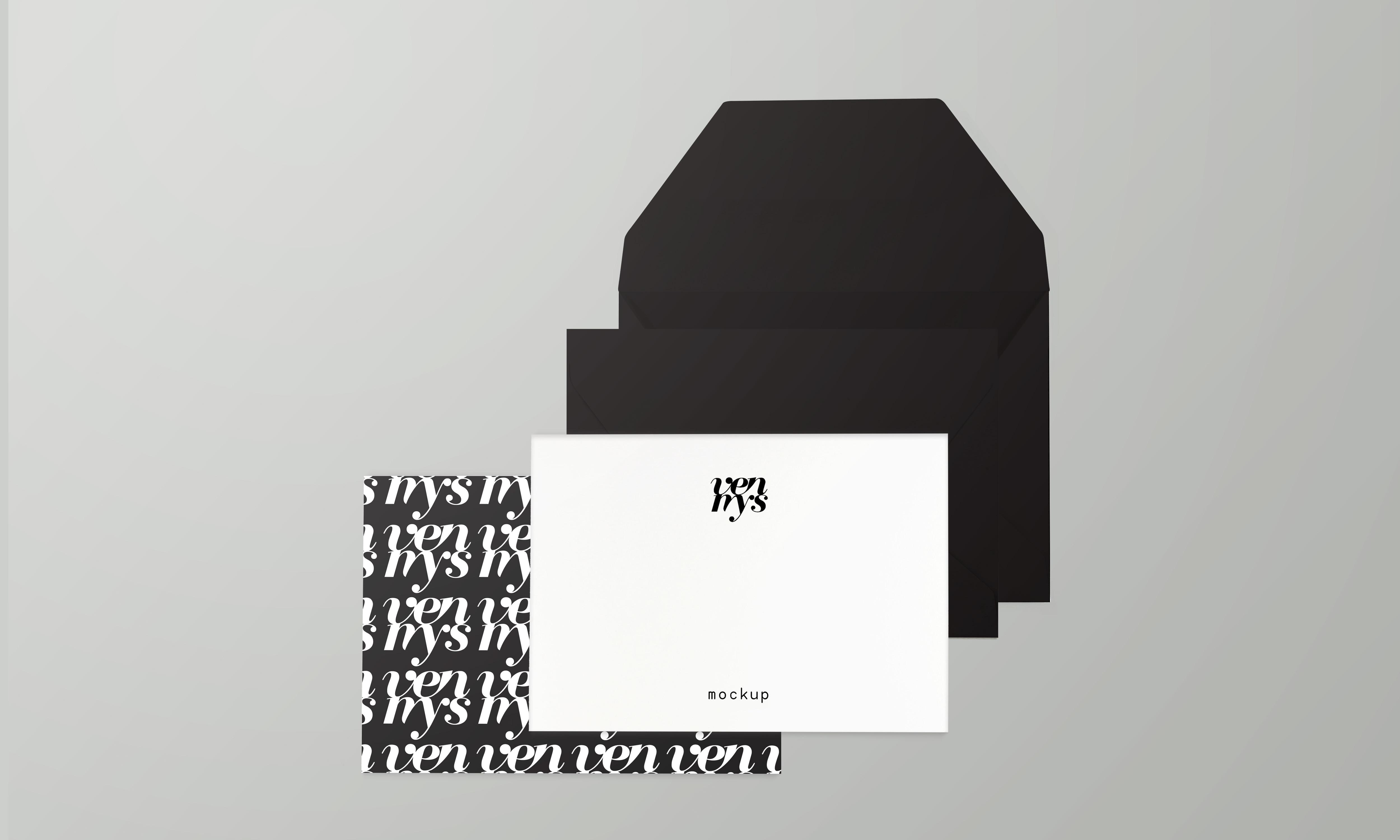 Minimal Branding Stationery Mockup