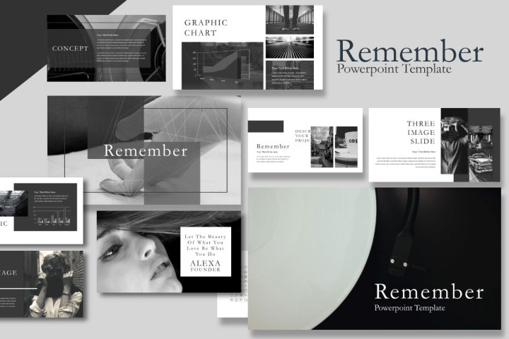 Free Remember Template Presentation