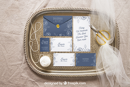 Wedding Stationery Mockups