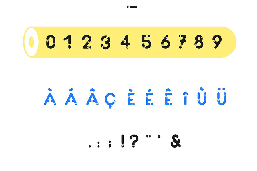 Cout Free Display Font
