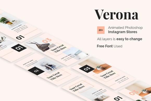 Verona Free Insta-Story Template