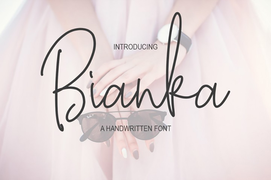 Bianka Script Free Demo