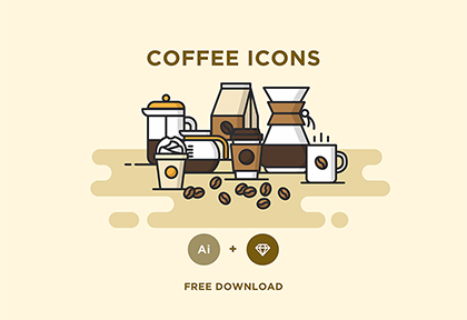 Free Vector Coffee Icons