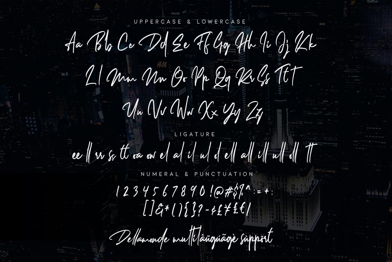 Dellamonde Signature Script Demo
