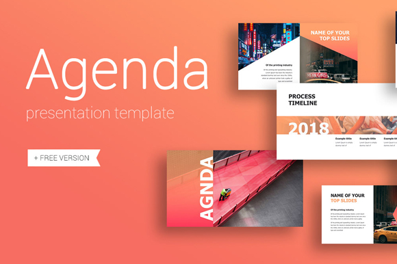 Agenda PowerPoint Template