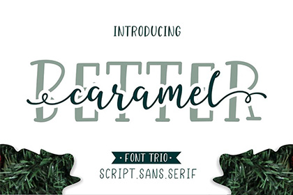 Better Caramel Font Demo