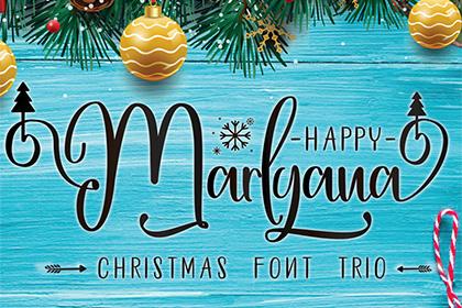 Happy Marlyana Font Demo