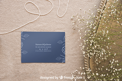 Wedding Stationery Mockup Set 5