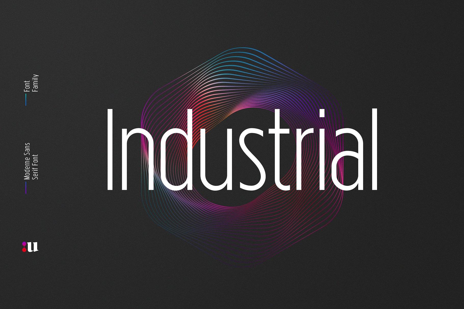Industrial Sans Freebie
