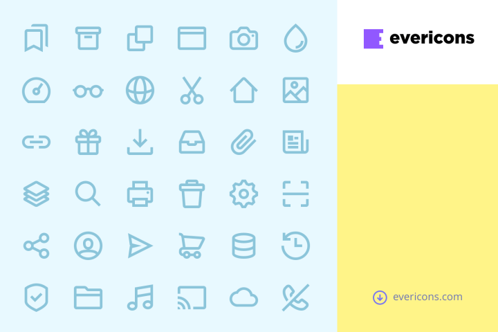 Evericons Free Vector Icon Collection
