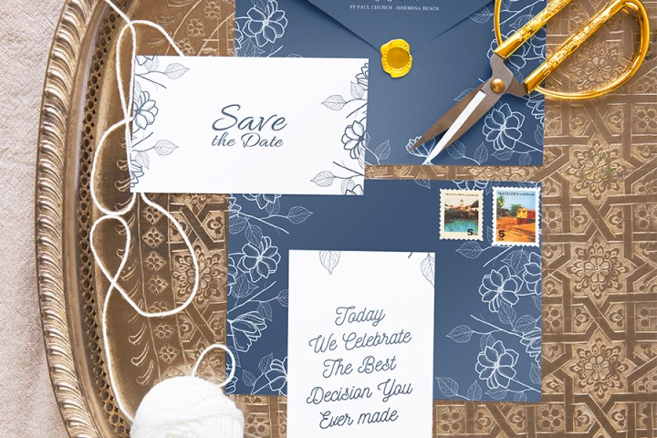 Wedding Stationery Mockup Set 6