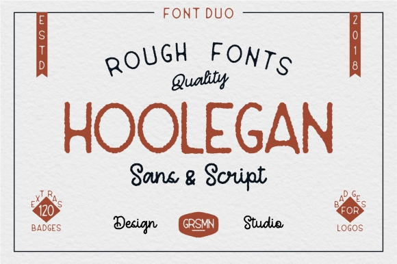 Hoolegan Font Duo Demo