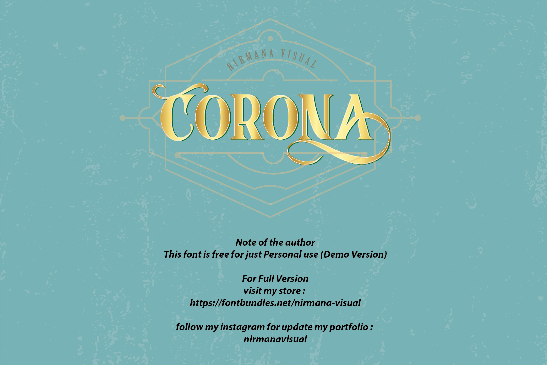 Corona Display Free Demo
