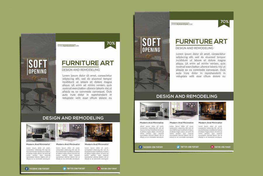 Interior Catalog Flyer Template