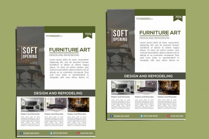 Interior Catalog Flyer Template