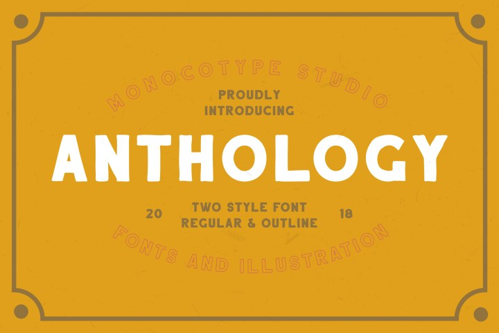 Anthology Handcrafted Sans Serif