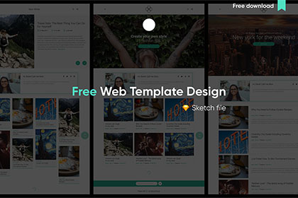Balsam Free Web Template