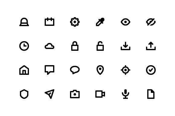 Free Essentials Icon Pack