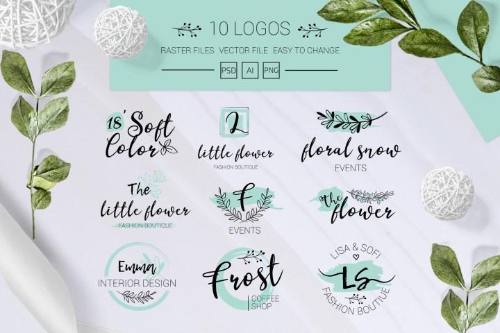 Minimal Elegant Logo Set