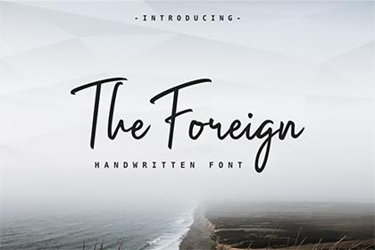 Foreign Script Font Demo